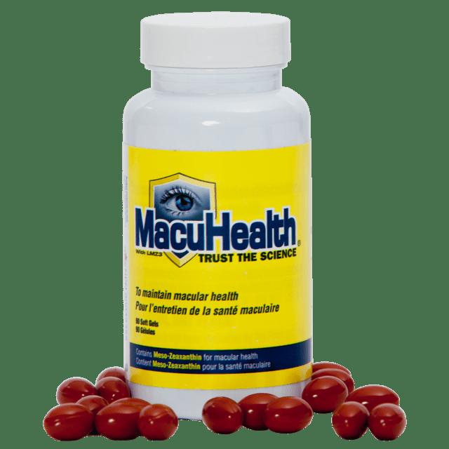 macuhealth bottle pills
